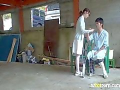 Nurses Seduce Patients To Fuck Outdoors