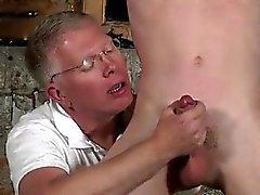 Gays fond de la gorge du sexe de galeries d'images de Sean McKenzie a a en treillis