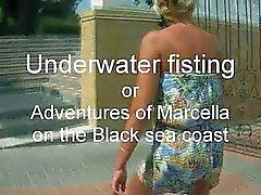 onderwater fisting