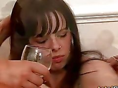 Three Chicks Getting Drunk