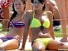 Mare Teens bikini di Voyeur La di HD
