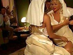 Prazer anal em espartilhos e nylons