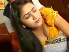 desi indio chica hermosa que tiene romance en el hogar - teen99