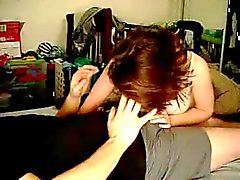 Amatööri kotitekoinen pari tekee rakkaus