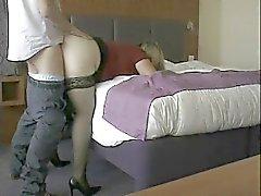 Aikuinen vaimo perseestä salainen rakastaja ja creampied