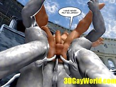 gay ass competition bizarre games 3d cartoon comic
