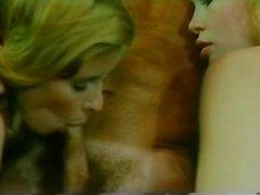 Vanessa del Rio John Leslie Gloria Leonard in classic porn video