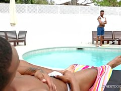 NextDoorEbony Horny Poolboy Tops Hot Homeowner