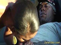 el sexo de safari africano con el bebé gordito
