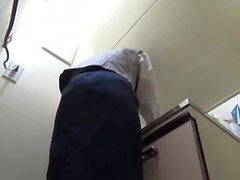 japanese hidden camera office farting