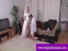 Domina bride zu bestrafen Ehemann