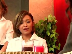 Massage with twat fingering for Japanese girl