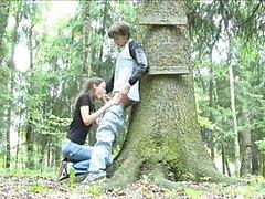 Приключения Оральный в лесу