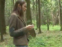 Abenteuer Blasen in den Wald