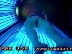 Teen Gizli Kamera Çok sıska kız kamu solaryum mastürbasyon