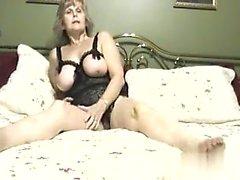 Big tit mature milf takes big black cock
