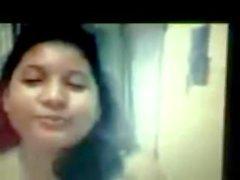 Siddheswari Collegio per ragazze Nyma Orthy mostrando tette