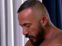 MenOver30 Bear Alessio Romero Ass Fucks Younger Hunk