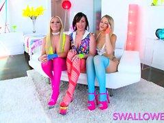 Jennifer White, Rachele Richey and Zoey Monroe are