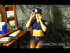 Officer naughty undressed part 1