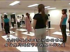 Japanse meisje krijgen misleid in Yoga daarna geneukt