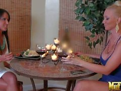 Molly Cavalli and Breanne Benson spend time together