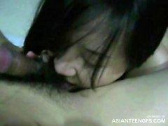 Chinese, Korean and Japanese girlfriends homemade porn
