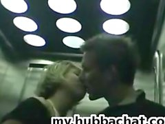Amador Teen GF público BJ elevador PublicFlashing