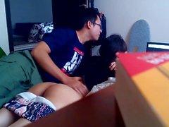 Vietnamita cam nascosta di BF per niente