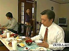 Ondertiteld bizarre Japanse bodemloze geen slipje huis