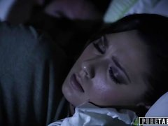 PURE TABOO Teen Virgin Tricked into Fucking Uncle During Sleepover