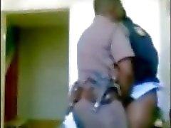 Polizei Chef frau genießen Unteroffizier Versteckte Kamera
