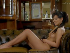 Bella Beretta being rubbed and shows her sexy body