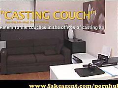 FakeAgent Sex crazed teaher Creampie Casting