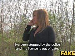 Fake Cop Hän rakastaa vitun poliisi cowgirl
