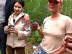 Russian Teen Orgy