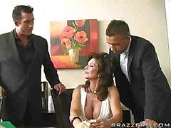 Deauxma Threesome