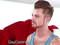 GayCastings - Güzel twink Mektup porno olmak isteyen
