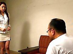 Японские мамаша на ММФ в трехходового сперма на лице