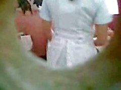 Enfermeira Câmera Escondida