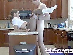 Lelu Love-Crotchless Pantyhose Slouch Socks Sex