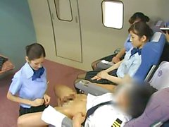 Stewardess de vol service particulier