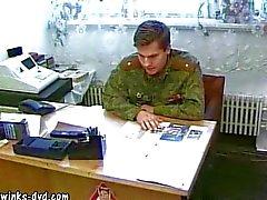 Свежие военнослужащих поймали треск