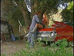 Geile ranch paar in actie buitenshuis