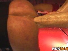 Hunks задница двойной кулак