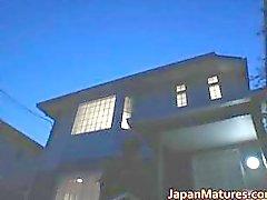 Bebés madura Japón cachondos mamando parte 3