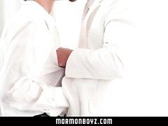 MormonBoyz - Mormons Have Steamy Sex In Secret Room