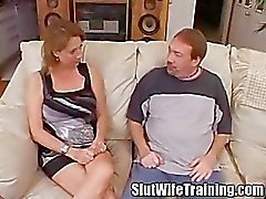 Slut Wife Anal Intervention Creampie