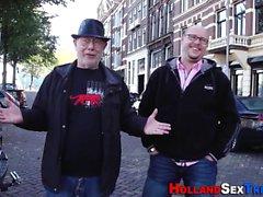 Amsterdam hooker jizzed