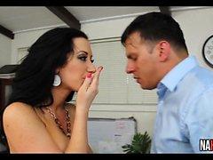 Sweet Sexy Nice Tits Secretary Rides Cock Jayden Jaymes